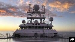 ولکن کمپنی کا بحری جہاز جو جاپانی بیڑے کی دریافت کیلئے استعمال کیا گیا