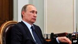俄羅斯總統普京 (資料照片)