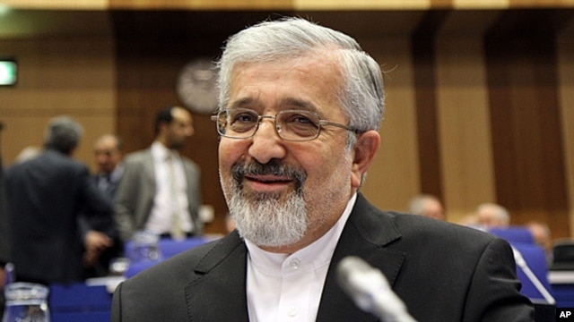 FILE - Iran's Ambassador to the International Atomic Energy Agency, IAEA, Ali Asghar Soltanieh, March 6, 2013.