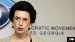Лідер грузинської опозиції Ніно Бурджанадзе