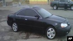 tinted car
