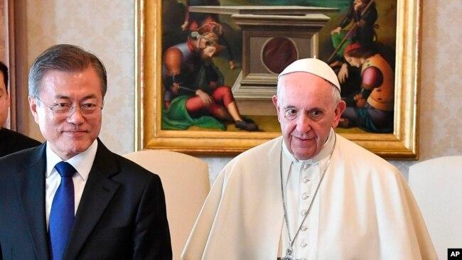 罗马天主教宗收到访问朝鲜正式邀请