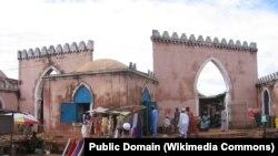 Guine-Bissau, antigo mercdo muçulmano em Bafatá