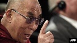 دالایی لاما رهبر روحانی تبعیدی تبت در جلسه روز چهارشنبه سخنرانی کرد