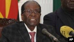 Vaive mutungamiri wenyika, VaRobert Mugabe avo vasiya basa