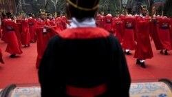 نوادگان کنفوسيوس در مراسم سالگرد تولد فيلسوف چينی در پکن شرکت کردند