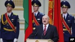 白俄羅斯總統盧卡申科(資料照)