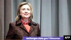 Ngoại trưởng Hoa Kỳ Hillary Clinton phát động 'Sáng kiến Phụ nữ 100: Đem lại sức mạnh cho Phụ nữ và Thiếu nữ qua Trao đổi Quốc tế'