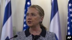 Хиллари Клинтон. Иерусалим, Израиль. 20 ноября 2012 года