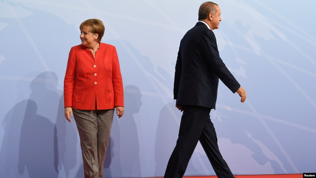 German turkish tensions rise over detention of german national in turkey german chancellor angela merkel and turkey president recep tayyip erdogan go their separate ways after a m4hsunfo