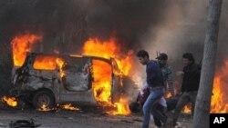 ဆီးရီးယားက အဆိုးဝါးဆံုး ကားဗံုးေပါက္ကြဲမႈထဲက တစ္ခု (ေဖေဖာ္ဝါရီ ၂၁၊ ၂၀၁၃)