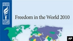 Report: Freedom Around World Declines for 4th Consecutive Year