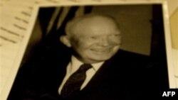 Bản thảo bài diễn văn từ giả của Tổng thống Dwight Eisenhower tại Thư viện Tổng thống Eisenhower ở Abilene, Kansas