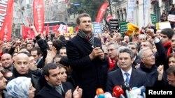 Mutafa Sarıgül CHP mitinginde