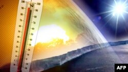 Ilmuwan dan aktivis telah memperingatkan bahwa polusi atmosfir akan menimbulkan keadaan cuaca ekstrim. Catatan suhu di AS menunjukkan 12 bulan terakhir ini merupakan cuaca terpanas sejak tahun 1895 (Foto: ilustrasi).