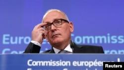 Avrupa Birliği Komisyonu'nun tarihi nitelikteki vize muafiyeti tavsiyesi Birinci Başkan Yardımcısı Frans Timmermans tarafından açıklandı.