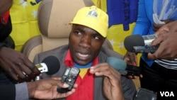 Secretario provincial da Casa-CE no Namibe Sampaio Mucanda