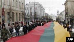 Литва отмечает 20-летие распада СССР