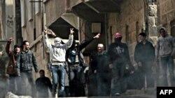 Антиурядовий протест у сирійському місті Дараа