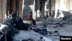 Suriyadan son görüntülər