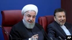 Presiden Iran Hassan Rouhani di Teheran, Iran, 5 November 2018. (Foto: dok).