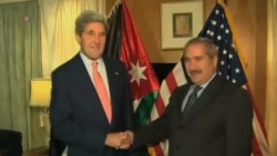 Kerry in Jordan for Arab League Talks