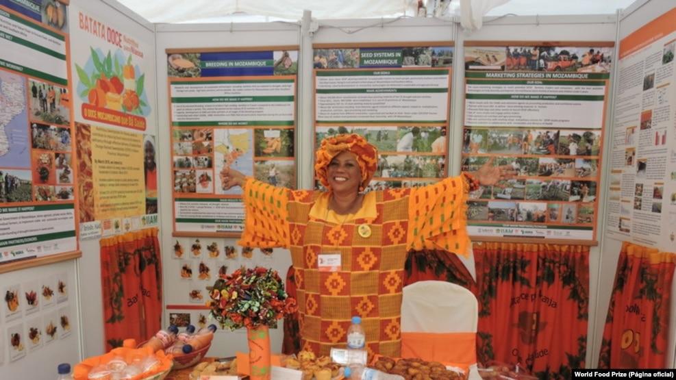 Maria Isabel Andrade, investigadora cabo-verdiana do Centro Internacional da Batata