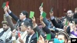 رئیس ولسی جرگۀ افغانستان انتخاب شد