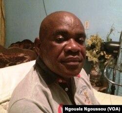 Didier Boutsindi, de la Majorité présidentielle, au Congo, le 3 avril 2017. (VOA/Ngouela Ngoussou)
