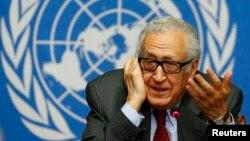 Đặc sứ Liên Hiệp Quốc-Liên đoàn Ả Rập về vấn đề Syria Lakhdar Brahimi.