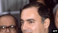 Ông Rajiv Gandhi đã bị ám sát năm 1991