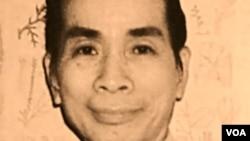 Chân dung Giáo Sư Phạm Hoàng Hộ.