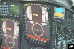 A closeup view of the U-2 cockpit instrumentation, Osan Air Base, South Korea, Dec. 7, 2011