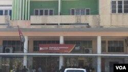 Repartição de identificação civil em Benguela