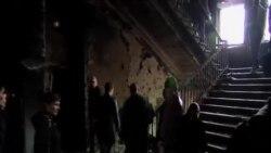 烏克蘭政府軍與親俄民兵交火