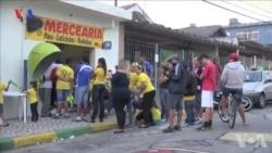 Dia de jogo na casa dos Brasileiros