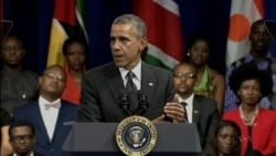Obama Holds Town Hall Meeting with Aspiring Young Africans