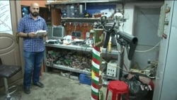 Kurdish Engineers Produce Weapons for Peshmerga to Fight IS