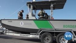 英语视频:移民冒死穿越美墨边境 边境巡逻员忙于应对