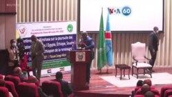 Manchetes africanas 5 Abril: Delegações da Etiópia, Egipto e Sudão em Kinshasa negoceiam sobre a mega-barragem etíope no Nilo