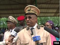 Governor Midjiyawa Bakari in Kousseri, Cameroon, Aug. 16, 2019. (VOA/Moki Kindzeka)