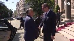 Premijer Mađarske Viktor Orban sastao se u Beogradu sa predsednikom Srbije Aleksandrom Vučićem