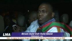 Le député anti-esclavage Biram Dah Abeid sort de la prison
