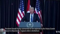 Perezida wa Leta zunze ubumwe z'America Donald J. Trump yatanze ubutumwa bw'akababaro