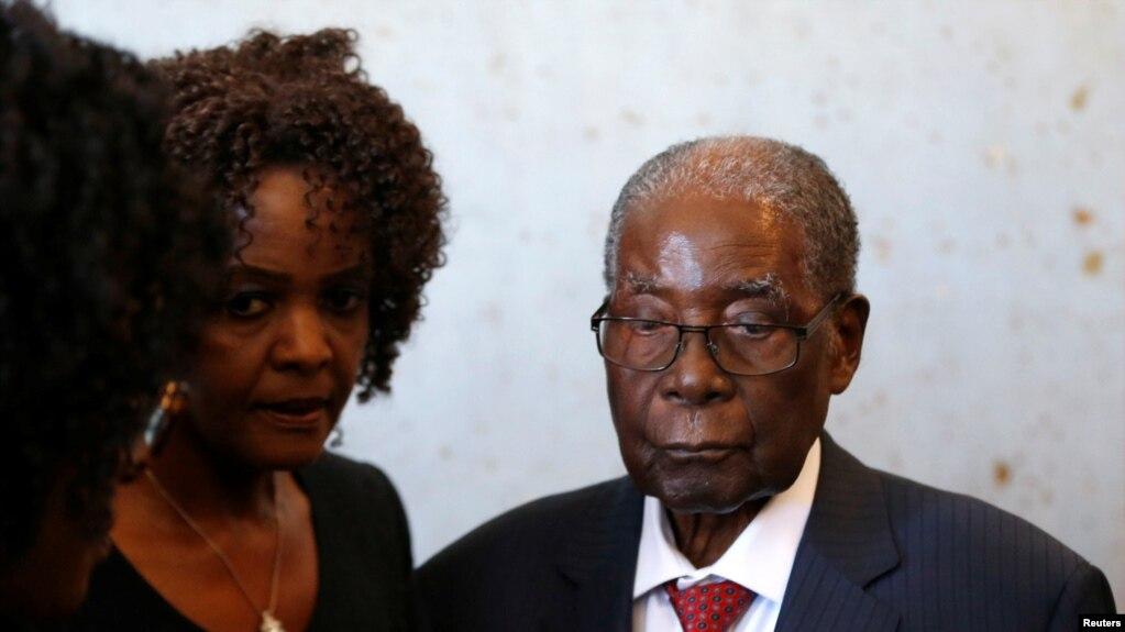 Vdiq ish presidenti i Zimbabvesë, Robert Mugabe