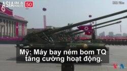 Căng thẳng dâng cao ở bán đảo Triều Tiên (VOA60 châu Á)