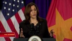 Phó Tổng thống Harris: Mỹ không ngần ngại lên tiếng về Biển Đông