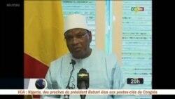 Réaction d'Ibrahim Boubacar Keïta suite à la tuerie de Sobame Da