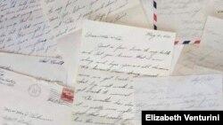 한국전쟁 참전용사 루이스 조셉 벤투리니 씨가 전쟁 당시 가족들에게 보낸 편지