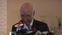 Pakistan Official Addresses Taliban, Violence, Peace